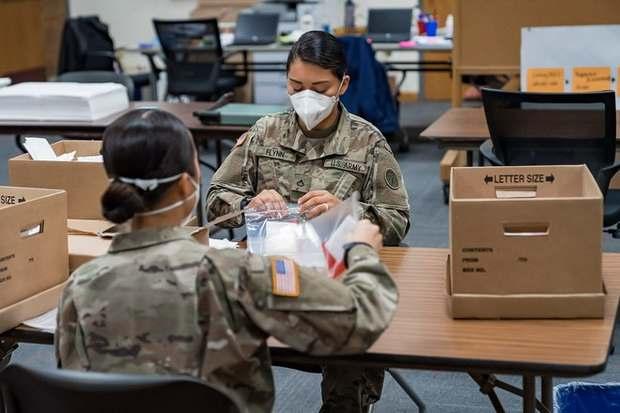 Пентагон хочет увеличить тестирование военных на коронавирус в восемь раз к лету