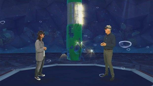 Microsoft представила платформу для встреч в виртуальной реальности