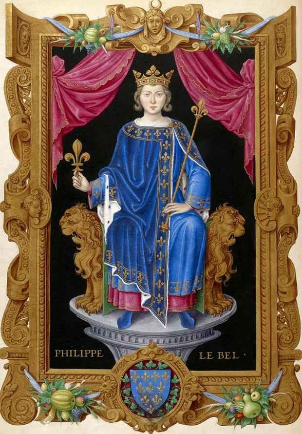Филипп IV Красивый. Источник: wikipedia.org