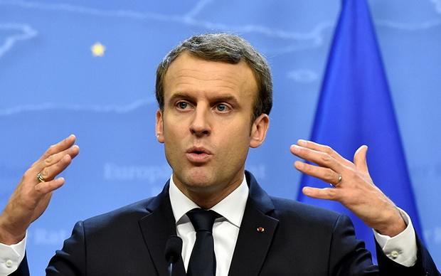 """Окончательная победа над боевиками террористической группировки """"Исламское государство"""" в Сирии будет достигнута только к концу февраля, заявил президент Франции Эмманюэль Макрон"""