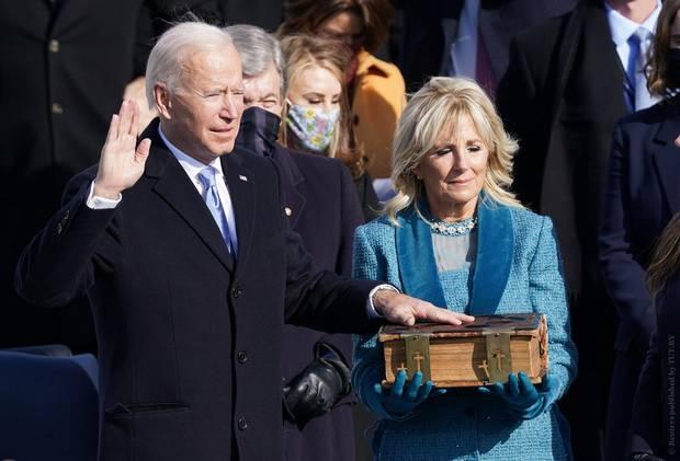 У США новый президент: Джозеф Байден официально вступил в должность
