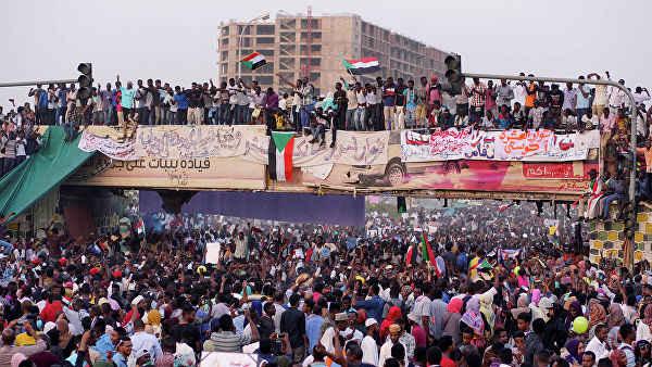 протестного движения в Судане