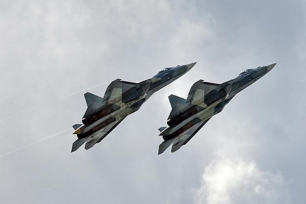 Истребители Су-57 отправят в Западный военный округ