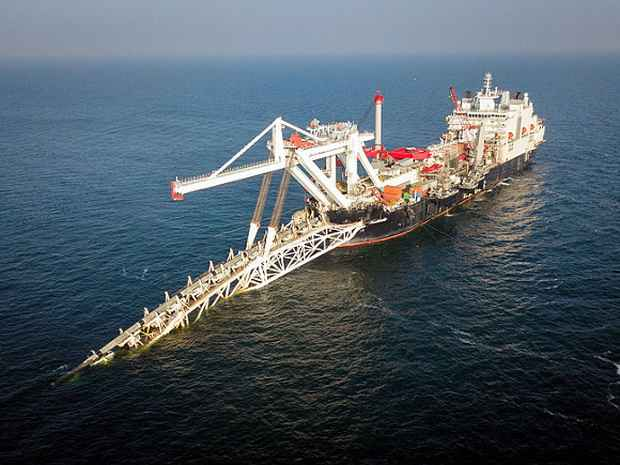 Швейцарская компания вывела из Балтийского моря суда, прокладывавшие ~Северный поток-2~