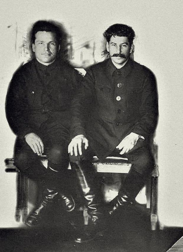 Сергей Киров и Иосиф Сталин