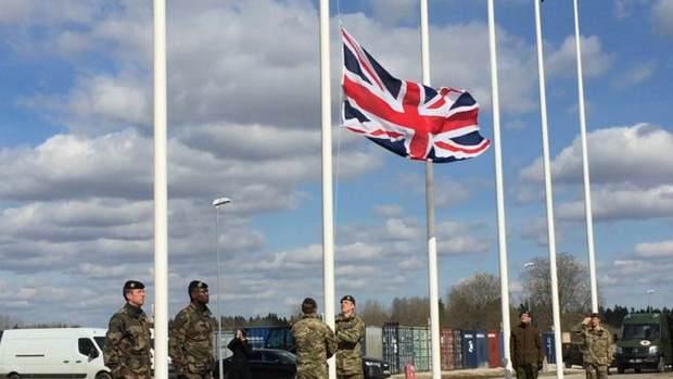 Британский батальон занял позиции в Эстонии
