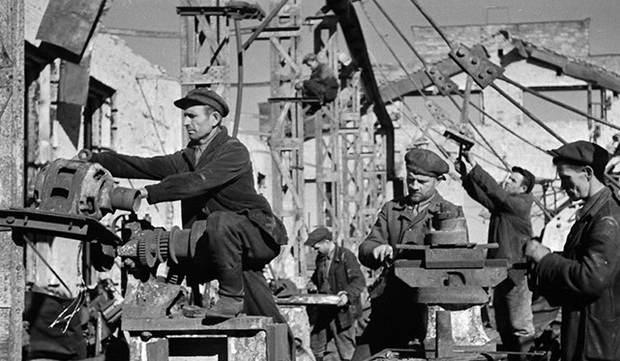 работа после войны на предприятиях
