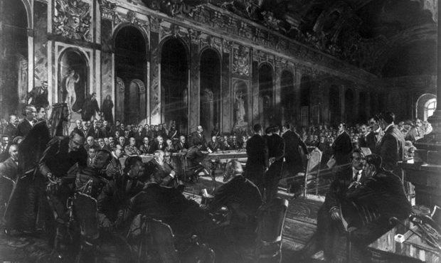 Версальский мирный договор 1919 года был подписан 28 июня.