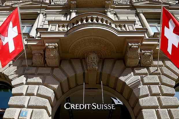 Швейцарский банк Credit Suisse заморозил ~российские~ активы на 5 млрд долларов