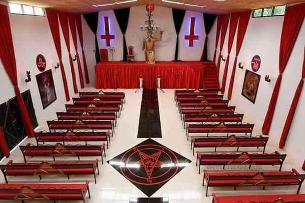 В США сатанистская группировка объявила, что государственная власть признала ее ~церковью~