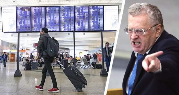 Жириновский призвал запретить российским туристам выезжать за границу