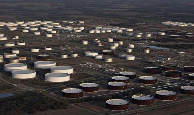 Запасы нефти в США выросли до рекордного уровня
