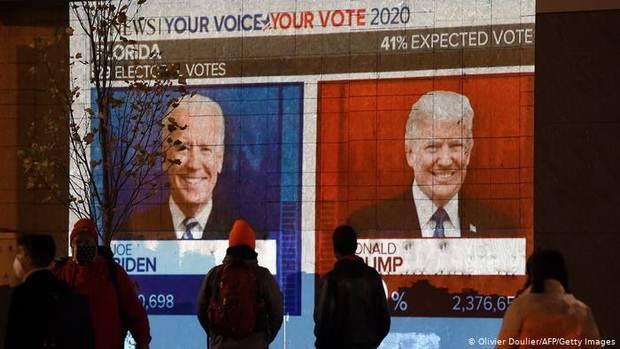 В США считают голоса: Байден увеличил отрыв от Трампа