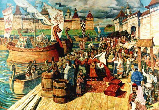 Торговля в Древней Руси