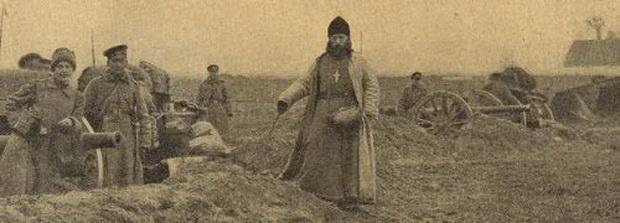 Легендарный священник Русского экспедиционного корпуса