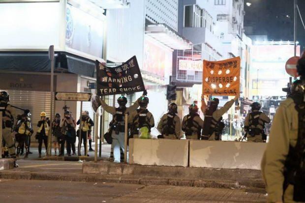 Чего требуют протестующие в Гонконге?