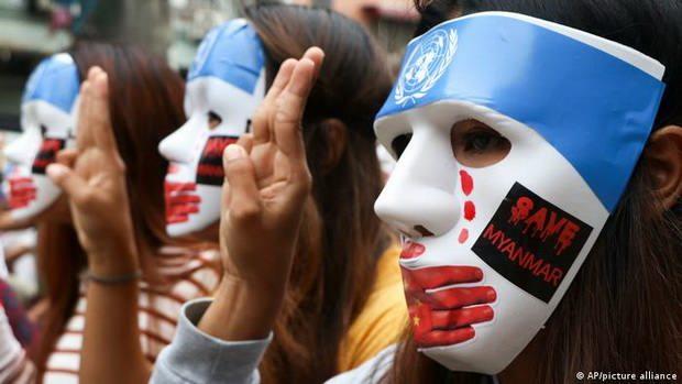 ЕС обвинил Россию и КНР в блокировании эмбарго ООН на поставки оружия Мьянме