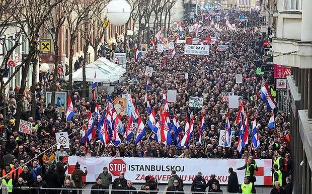 На сегодняшний день она подписана 46 странами, в том числе и Украиной 07.11.2011 г. и отдельно Европейским союзом. Однако целый ряд стран, в том числе и Украина, не ратифицировали Стамбульскую конвенцию.