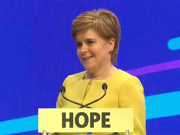 Лидер ШНП отметила, что планируемое голосование не будет повторением кампании в поддержку независимости, которая велась в преддверии референдума в 2014 году.