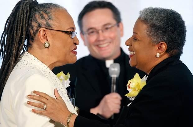 Значительная часть прихожан церквей США поддерживает однополые браки