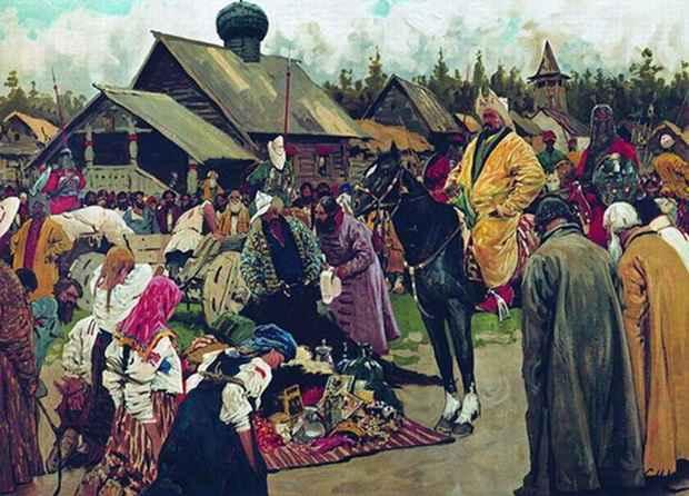 В последовавших вслед за расцветом этапах феодальной раздробленности и татаро-монгольского ига на Руси наступили времена политической и экономической стагнации, ставшие своеобразным периодом русского денежного обращения