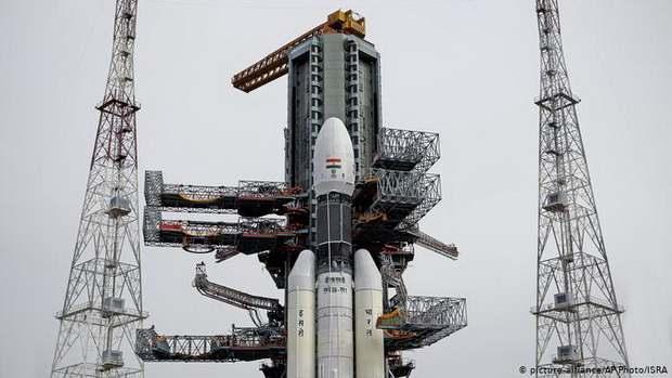 Запуск индийской лунной станции Chandrayaan-2, отменен
