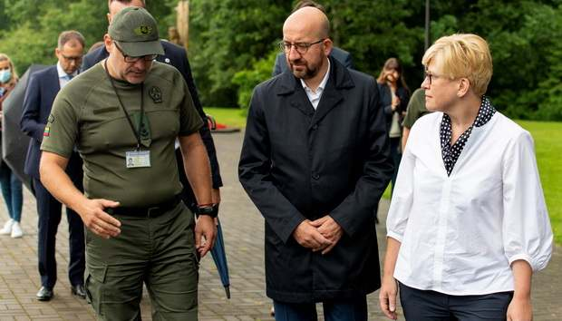 В ЕС обвинили режим Лукашенко в притоке нелегальных мигрантов в Литву