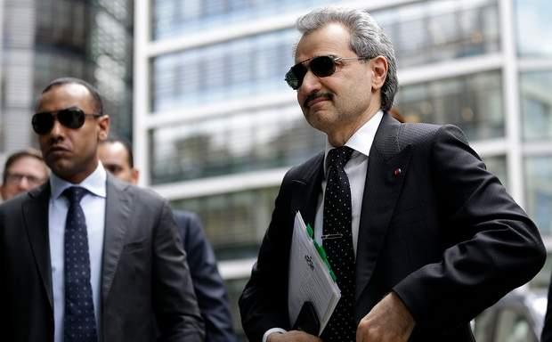 Принц-миллиардер аль-Валид потерял $1 млрд после ареста