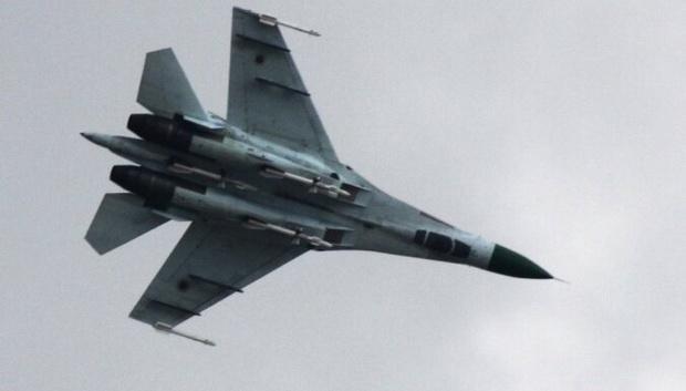Это второе за день крушение российского военного самолета.