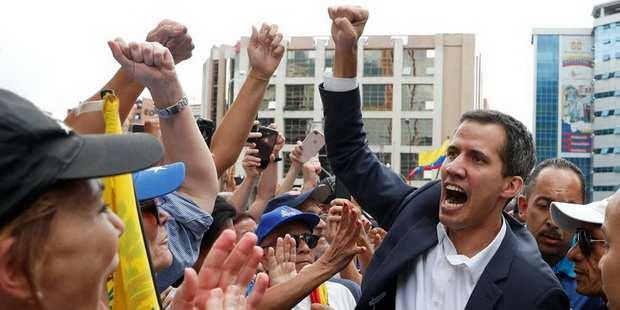 Гуаидо заявил о переговорах с венесуэльскими военными