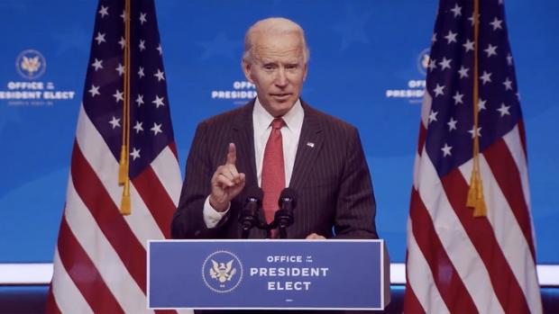 Джо Байден считает себя избранным президентом