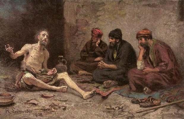 """История праведного Иова, жившего в Северной Аравии за 2000-1500 лет до Рождества Христова, описана в """"Книге Иова"""", одной из самых загадочных книг Библии, автором которой, по традиции, считается Моисей."""