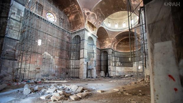 Террористы уничтожили последние остатки убранства собора