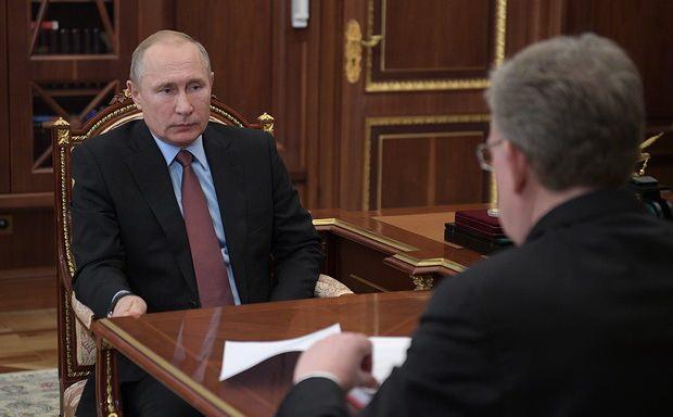 Путин удивился словам Кудрина о неисполнении бюджета на ₽1 трлн