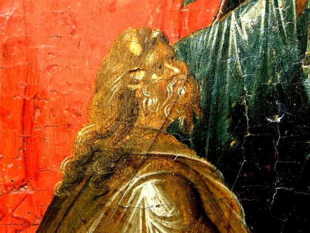 Святой Праотец Адам, вызволяемый из ада Спасителем мира