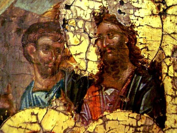Святые Пророки Моисей и Иоанн Предтеча, вызволенные Господом из ада