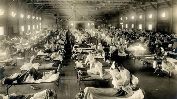 Болезнь фантастическая, поскольку уничтожила людей больше, чем Первая Мировая Война.