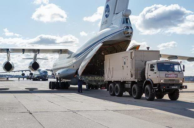 Россия отправила в США самолет с гуманитарной помощью