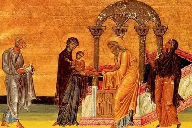 Православные отмечают Сретение Господне