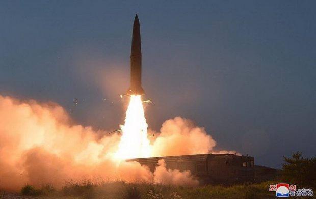 США зафиксировали новый пуск ракеты с территории КНДР
