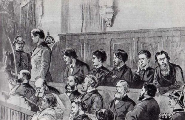 Обвиняемые в суде