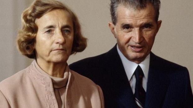 Николае Чаушеску со своей супругой Еленой