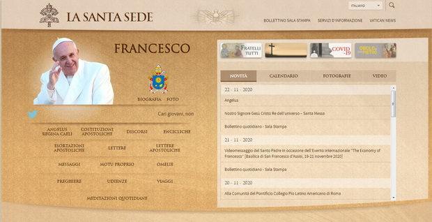 Сеть Ватикана неуклонно наращивается с момента запуска его главного веб-сайта www.vatican.va в 1995 году.