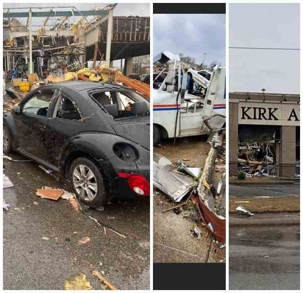 На США обрушились торнадо и град
