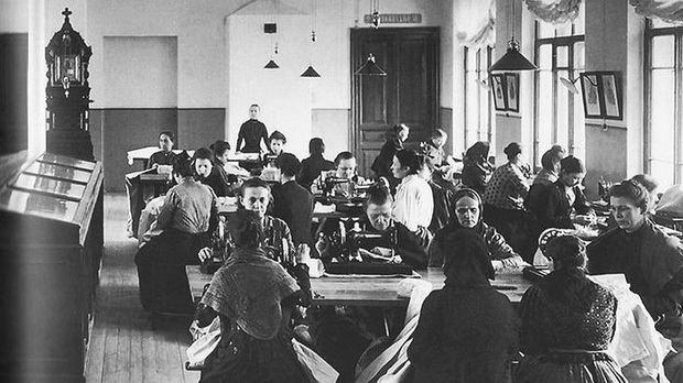 Дом трудолюбия давал неимущим возможность заработать на еду и ночлег