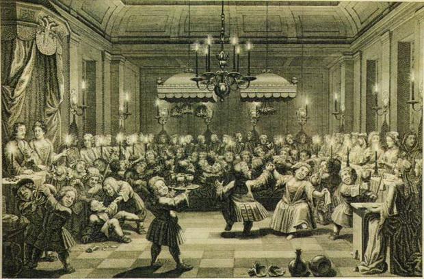 Ассамблея эпохи Петра I