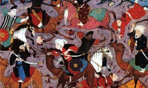 Арабские конные лучники