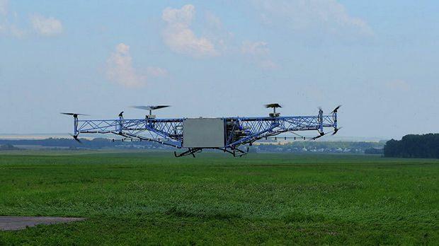 В России планируют создать дрон для эвакуации потерянных людей