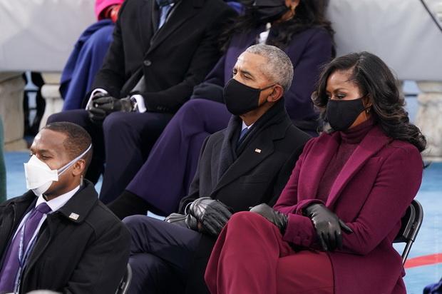 Из экс-президентов на инаугурации присутствовали Барак Обама, Джордж Буш и Билл Клинтон.