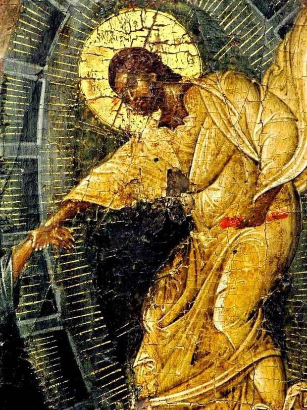 Спаситель вызволяет из ада Праотца Адама